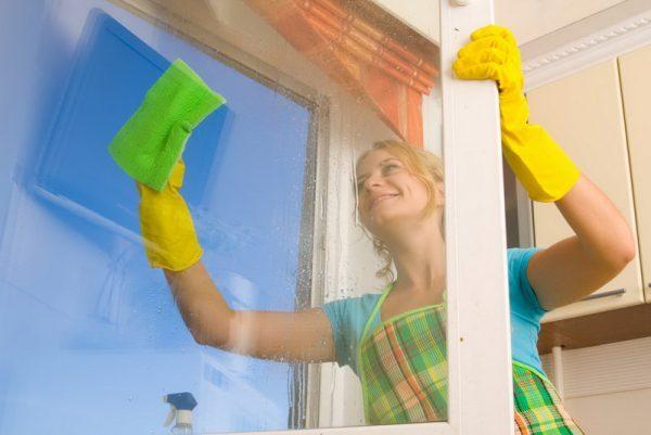 Kak vymyt okna bystro i bez razvodov