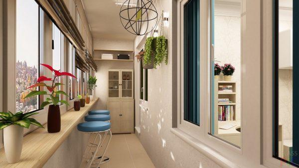 idei dizajna otdelki balkona 108 1
