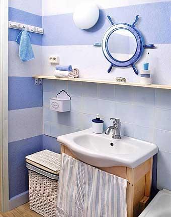 ванная комната после косметического ремонта