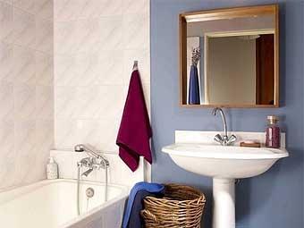 как освежить дизайн ванной
