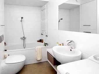 как сделать красивый ремонтв ванной недорого