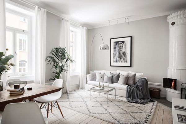 scandinavian apartment with soft beige interiors pufikhomes 1