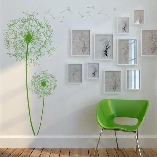 Как необычно украсить стену: техники, выполнение, примеры с фото