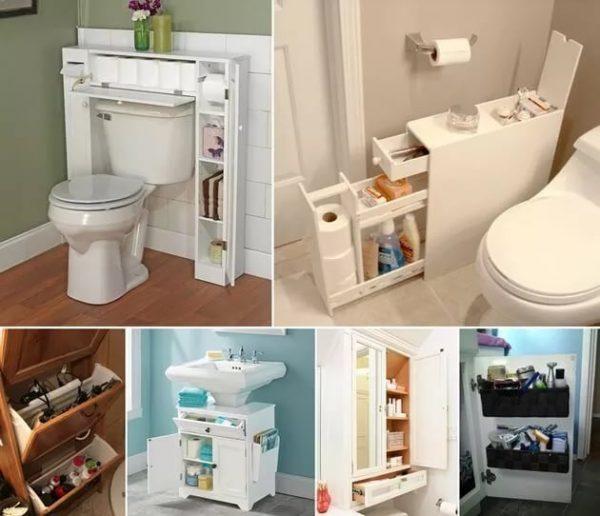 Экономим пространство в ванной: раковина над стиральной машинкой