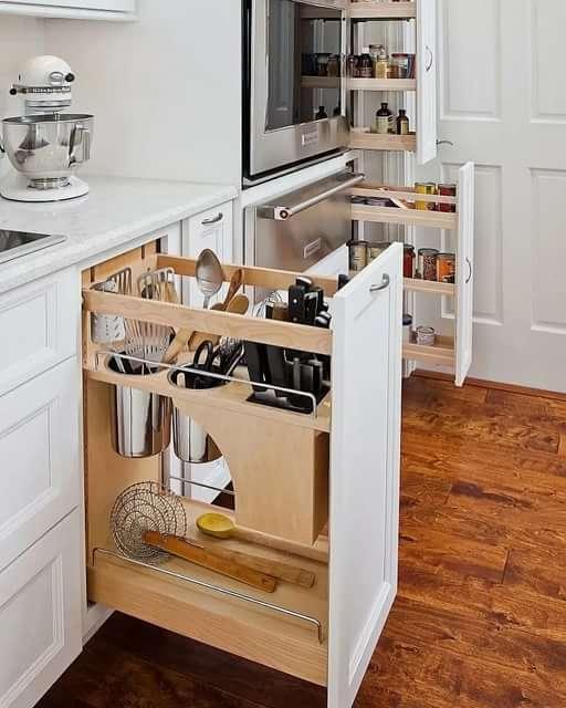 Как правильно организовать кухонное пространство.