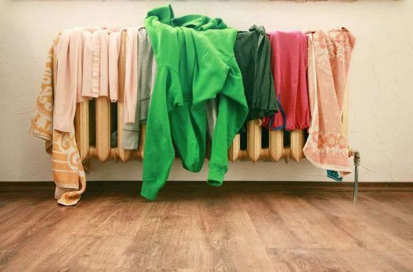 Сушите одежду в комнате? Да вас есть семь важных советов, которыми не стоит пренебрегать!